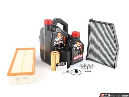 ES#2996941 - 06K115562SKT - 60k Service Kit  - Includes Motul performance 5W-40 Synthetic engine oil, Genuine Oil Filter and a Genuine oil filter housing - Assembled By ECS - Volkswagen