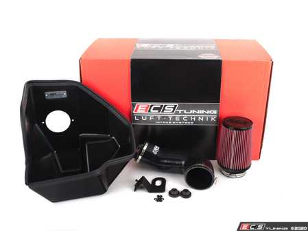 ES#4004563 - 027038ECS04 -  Atlas 3.6L VR6 Luft-Technik Intake - Unleash hidden horsepower and growl with our in-house engineered Air Intake Kit! Featuring a sealed Heat Shield, Silicone Intake Hose and a high flow, reusable Air Filter - ECS - Volkswagen