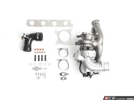 ES#4315172 - CTS-TR-1050X - CTS K04-X Hybrid Turbocharger - Transverse - CTS engineers designed the compressor cover to accept a larger billet compressor wheel and exhaust housing to work with the clipped K04 turbine wheel - CTS - Audi Volkswagen