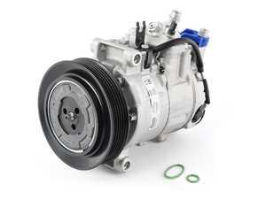 ES#4171947 - 8K0260805K - A/C Compressor - Get your car cool again with this new A/C compressor - Nissens - Audi