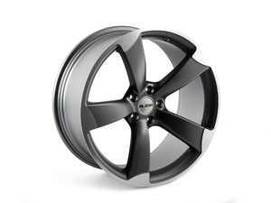 """ES#4325181 - 628-13KT - 20"""" Style 628 Wheels - Set Of Four - 20""""x9"""" ET30 5x112 - Matte Gunmetal/Machine Face - Alzor - Audi"""