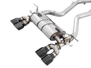 ES#4044132 - GRP-EXH-BMF8XM41 - AWE Non-Resonated SwitchPath Exhaust Suite For F8x M3/M4 - This non-resonated exhaust delivers a raw sound from your S55 motor when the valves are open - AWE - BMW