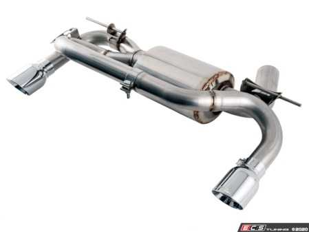 ES#4044205 - F30-335-GROUP - AWE Touring Edition Exhaust System - F3X N55 - By replacing the factory muffler, you will uncover the pure sound of the N55 twin-turbo engine. - AWE - BMW