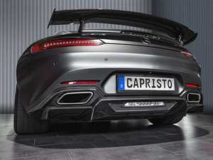 ES#4316446 - 03MB08910001KG - Carbon Fiber Rear Diffuser - Add some extra aggressive looks to your AMG GT! - Capristo  - Mercedes Benz