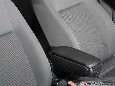 ES#250678 - VT#1A0020 - Armrest Kit - Anthracite - Complete kit to add an armrest to your MKV Rabbit - ECS - Volkswagen