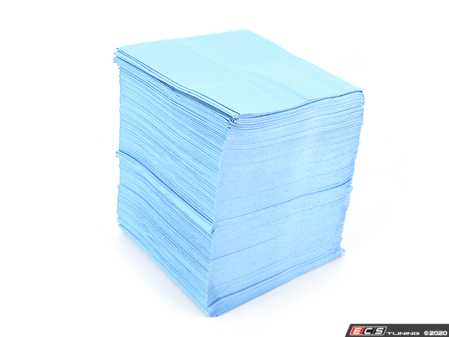 ES#4164127 - 14910 - Lint-Free Towels - 150 Ct - These towels are made of polypropylene, not paper, leaving behind no lint or glue residue. Their durable surface grabs dirt and grease - Griot's - Audi BMW Volkswagen Mercedes Benz MINI Porsche