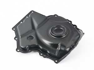 ES#4304840 - 06H109210Q - Timing Chain Cover - Lower (06H109210AG) - Cover for lower section of timing chain - Includes front crank seal - Hamburg Tech - Audi Volkswagen