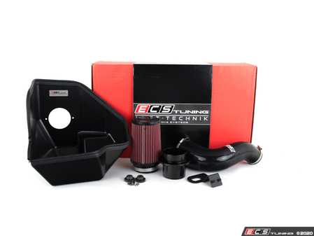 ES#4004590 - 027864ECS03 -  Atlas 2.0T Luft-Technik Intake - Unleash restrictions and glorious turbo sounds with our in-house engineered Air Intake Kit! Featuring a sealed Heat Shield, Silicone Intake Hose and a high flow, reusable Air Filter - ECS - Volkswagen