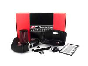 ES#4039256 - 025552ECS05 -  MK6 Jetta 1.4T Luft-Technik Intake - Unleash restrictions and glorious turbo sounds with our in-house engineered Air Intake Kit! Features a sealed Heat Shield, aluminum intake tube and a high flow, reusable Air Filter - ECS - Volkswagen