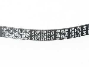 ES#2089954 - 0029936796 - Multi-Rib Accessory Belt - 20.5x2528mm - Genuine Mercedes Benz - Mercedes Benz