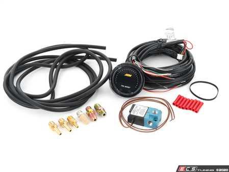 ES#4220207 - 30-0352 -  AEM X-Series Tru-Boost Controller Gauge W/ Boost Control Solenoid 80PSIg Internal MAP Sensor - AEM -