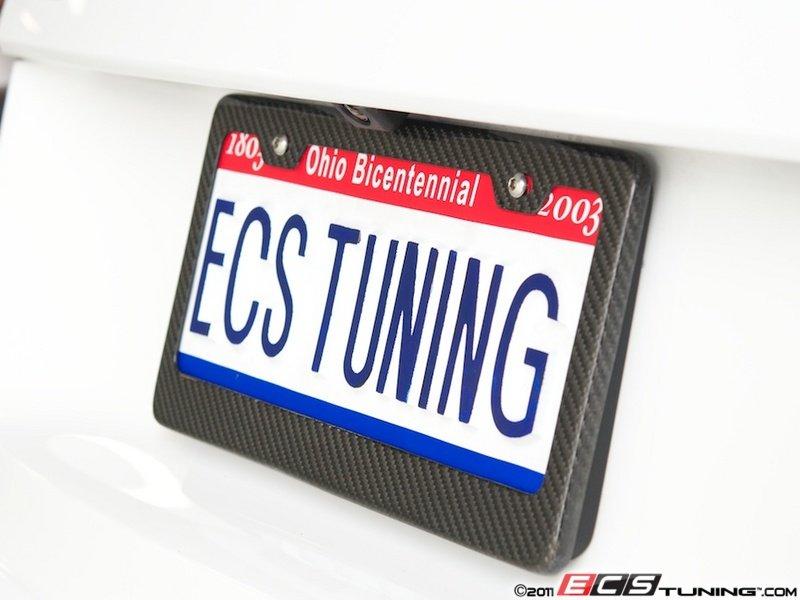ECS - 6373 - Carbon Fiber License Plate Frame