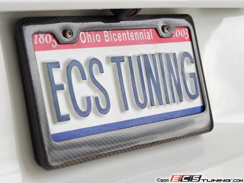 es2083299 6373 carbon fiber license plate frame carbon fiber plate frame