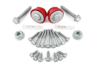 ES#4316758 - 021081ECS02KT -  MK4 Polyurethane Front Subframe Bushing Kit - With Complete Subframe Hardware - Includes ECS Poly. Subframe Bushings and all recommended hardware to be replaced during subframe removal - Assembled By ECS - Volkswagen