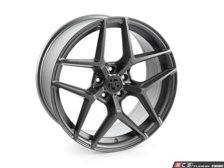 "ES#4338092 - 013-2KT - 19"" Tekniform Style 013 - Set Of Four - 19""x8.5"" ET40 5x112 - Matte Gunmetal - ECS - Audi BMW MINI"