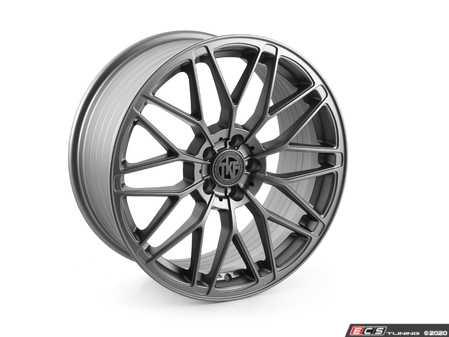 "ES#4338088 - 006-4KT - 19"" Tekniform Style 006 - Set Of Four - 19""x8.5"" ET40 5x112 - Matte Gunmetal - ECS - Audi BMW MINI"