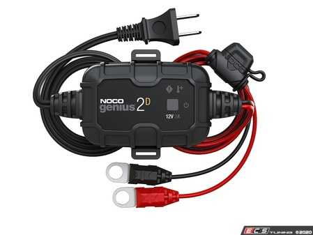 ES#4336318 - GENIUS2D - NOCO Genius 2 Amp Direct-Mount Battery Charger And Maintainer - The GENIUS2D, one of the most powerful, highest-performing, energy-efficient, and compact chargers yet - NOCO - Audi BMW Volkswagen Mercedes Benz MINI Porsche