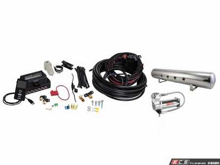 """ES#3103444 - 27788 - Universal Air Lift Performance 3P Kit - 3/8"""" Air Line  - Everything you need to add air to your car! Struts and Bags are not included. - Air Lift - Audi BMW Volkswagen Mercedes Benz MINI Porsche"""