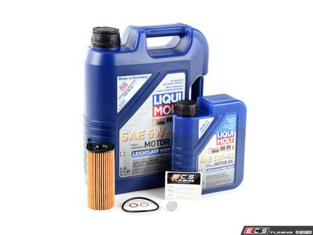 ES#4220124 - f30b48ocKT - Leichtlauf High Tech  Oil Change Kit / Inspection I - Everything you need to perform an engine oil service - Assembled By ECS - BMW