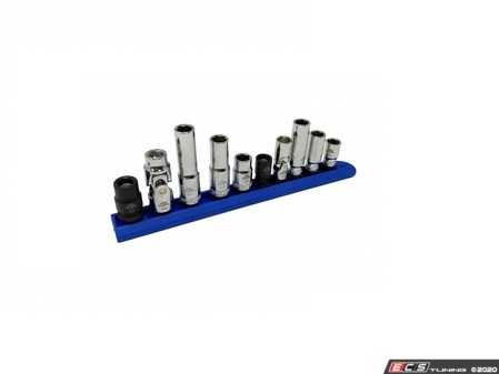 ES#4337052 - CTA3805 - 10-Pc 10mm Socket Set - 10 piece socket set offers the 5 most lost styles of 10mm sockets. - CTA Tools - Audi BMW Volkswagen Mercedes Benz MINI Porsche