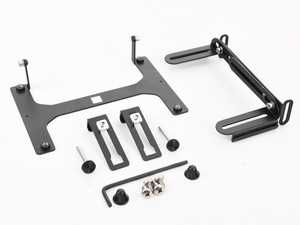 ES#4338282 - LPM-BMC0136-NSD3 - No-Drill Front License Plate Mount - North America *Scratch And Dent* - Mount your front license plate without needing to drill holes into your bumper! - Carbonio - BMW