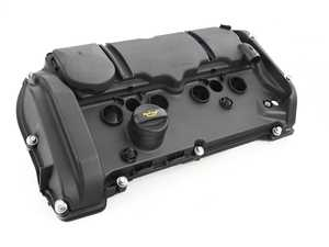ES#4159170 - 11127646552 - Valve Cover With PCV - N18 Engine - Keep your MINI engine looking new : part of the PCV system / Cylinder Head Cover - URO - MINI