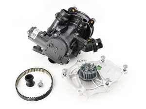 ES#3996455 - 06l121111hKT3 - Thermostat / Water Pump Replacement Kit - Includes necessary parts to replace the thermostat - Genuine Volkswagen Audi - Volkswagen