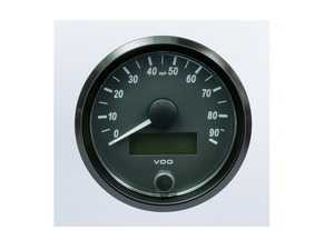 ES#4338681 - A2C3832900030 - SingleViu 80mm 90mph Speedometer - Priced Each  - Analog dial to display critical information in a classic design with digital tim - VDO - Audi BMW Volkswagen Mercedes Benz MINI Porsche