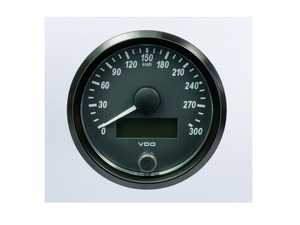 ES#4338686 - A2C3832950030 - SingleViu 80mm 300km/h Speedometer - Priced Each  - Analog dial to display critical information in a classic design with digital time - VDO - Audi BMW Volkswagen Mercedes Benz MINI Porsche