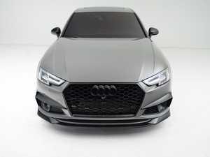 ES#4338534 - 007041la01KT - B9.5 Mid-Facelift S4/A4 S-Line 3 Piece Front Lip - Gloss Black - Upgrade your exterior styling! - ECS - Audi