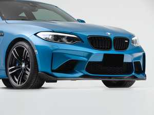 ES#4338928 - 000949LA01 - Turner Motorsport Carbon Fiber Front Lip - The carbon fiber masterpiece that your M2 (non-Competition) has been waiting for. Simple installation using factory mounting locations. - Turner Motorsport - BMW