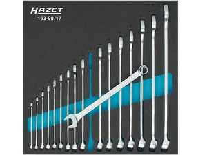 ES#4340021 - 163-98/17 - Combination Wrench Set - Perfect order system - all tools are snugly embedded - Hazet - Audi BMW Volkswagen Mercedes Benz MINI Porsche