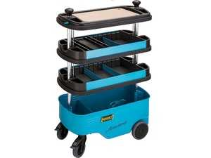 ES#4340022 - 166C - Tool Trolley - Intermediary containers suitable for HAZET plastic drawer inserts, 2 separation sheets included - Hazet - Audi BMW Volkswagen Mercedes Benz MINI Porsche