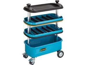ES#4340023 - 166N - Tool Trolley - Intermediary containers suitable for HAZET plastic drawer inserts, 2 separation sheets included - Hazet - Audi BMW Volkswagen Mercedes Benz MINI Porsche