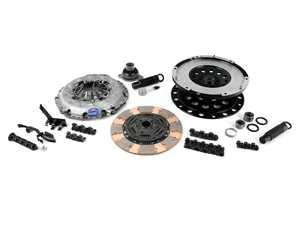 ES#3619835 - k70619-hd-bKT - Performance Lightweight Flywheel Drag Clutch Kit - Stage 2  - ECS Lightweight Flywheel with a Southbend Stage 2 clutch kit rated at 500ft/lbs - ECS - Audi