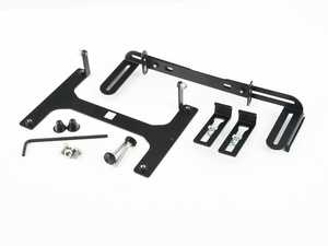 ES#4340348 - LPM-BMC0136Nsd - No-Drill Front License Plate Mount - North America - *Scratch And Dent* - Mount your front license plate without needing to drill holes into your bumper! - Carbonio - BMW
