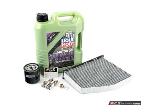 ES#3698464 - 202321ktKT - 40K Service Kit - Featuring service parts for oil change, cabin filter, and spark plugs. - Assembled By ECS - Volkswagen