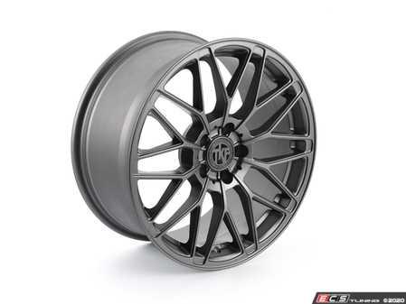 "ES#4349405 - 006-2KT - 18"" Tekniform Style 006 - Set Of Four - 18""x8.5"" ET40 5x112 - Matte Gunmetal - ECS - Audi MINI"