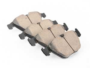 ES#4348834 - EUR918sd3 - Front Euro Ceramic Brake Pad Set - *Scratch And Dent* - Offers excellent pedal feedback, low dust, and smooth initial bite. A favorite among BMW enthusiasts. - Akebono - BMW
