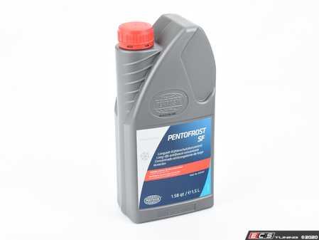 ES#550 - AF G001200 - G12 Coolant - 1.5 Liter - Pink Pentosin SF Pentofrost coolant new updated G12 plus formula - Pentosin - Audi Volkswagen Porsche