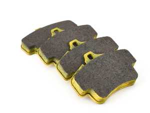 ES#3545847 - 240529 - RSL29 Yellow Endurance Racing Brake Pads - Rear - Popular street and endurance racing pad. Same friction material used in several European racing series. - Pagid Racing - Porsche