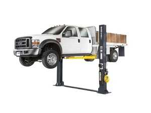 ES#4349375 - 5175403 - XPR-12FDL 12,000-lb. Capacity / Two-Post Lift / Floorplate / Direct-Drive / Triple-Telescoping Arms - Shops that work on massive fleets and vehicles need a powerful car lift with a small footprint. - BendPak - Audi BMW Volkswagen Mercedes Benz MINI Porsche