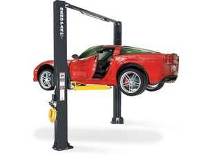 ES#4349386 - 5175397 - XPR-10AS 10,000-lb. Capacity / Asymmetric Clearfloor / Adjustable Width / Screw Pads - Shops that work on massive fleets and vehicles need a powerful car lift with a small footprint. - BendPak - Audi BMW Volkswagen Mercedes Benz MINI Porsche