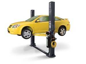 ES#4349389 - 5175390 - XPR-9S 9,000-lb. Capacity / Floorplate / Chain-Over / Wide / SHORTY / Adjustable Width / Screw Pads - Shops that work on massive fleets and vehicles need a powerful car lift with a small footprint. - BendPak - Audi BMW Volkswagen Mercedes Benz MINI Porsche