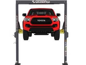 """ES#4349395 - 5175992 - GP-7 GrandPrix Series 2-Post Lift / 7,000 Lb. Capacity / 150 OA Height / 78"""" Lifting Height - Ideal for narrow garages looking to fit more lifts in limited space. - BendPak - Audi BMW Volkswagen Mercedes Benz MINI Porsche"""