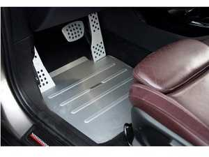 ES#4349754 - TM54.55SILVER - Track Mat MINI Drivers/Passenger Side - Silver Set - Main bottom section of the floor - Rennline - MINI