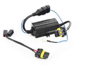 ES#3214382 - H200 - Standalone Can-Bus Wiring Harness - H1 / H3 - Priced Each - Eliminate flickering lights and bulb out signals! - Morimoto - Audi BMW Volkswagen Mercedes Benz MINI Porsche