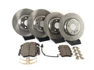 ES#3194974 - koe5754KT - Autospecialty Daily Driver Front & Rear Brake Service Kit - A fast, easy, and affordable solution to restore braking performance - Power Stop - Audi