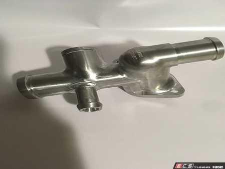 ES#4348605 - Aut-mk4-cf1 - Billet Coolant Flange  - Never replace another cracked coolant flange again! - Autobahn Autoworx - Audi Volkswagen