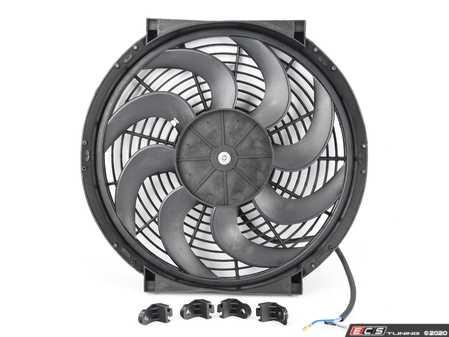 "ES#4265263 - MMFAN-14C - Mishimoto Universal Curved Blade Electrical Fan - 14"" - 1300 CFM. High performance fan with curved blades. - Mishimoto - Audi BMW Volkswagen Mercedes Benz MINI Porsche"